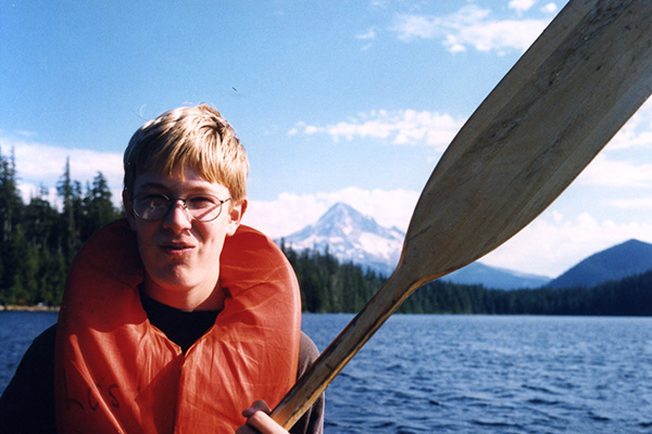 Since his youth, Dane has been an avid roadtripper, crisscrossing the U.S from Atlanta to Seattle to Michigan. He is pictured here near Mount Rainier, attempting not to drown.